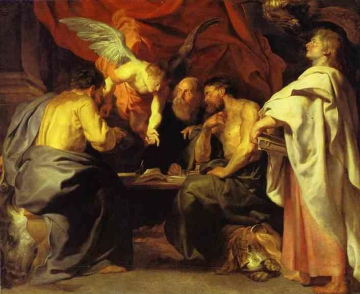 Peter Paul Rubens. The Four Evangelists.