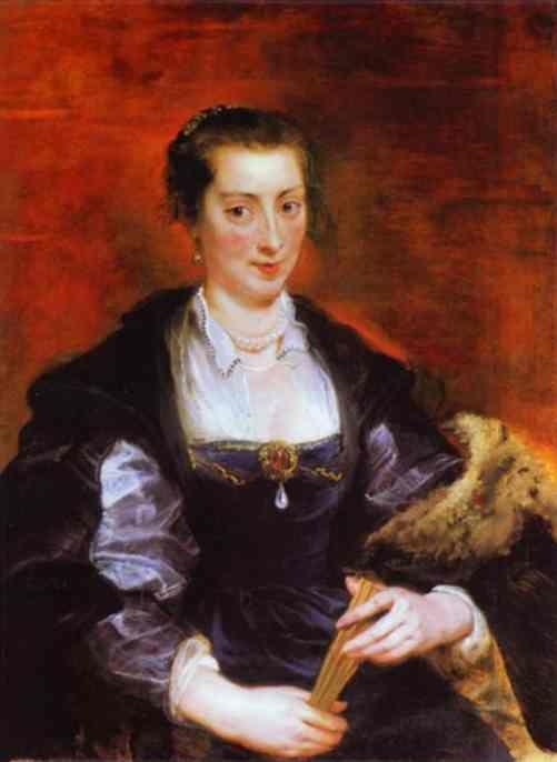 Peter Paul Rubens. Portrait of Isabella Brant (?).