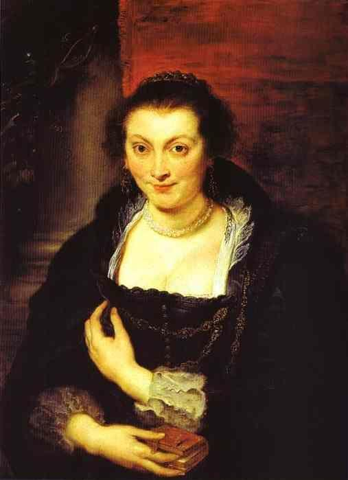 Peter Paul Rubens. Portrait of Isabella Brant.