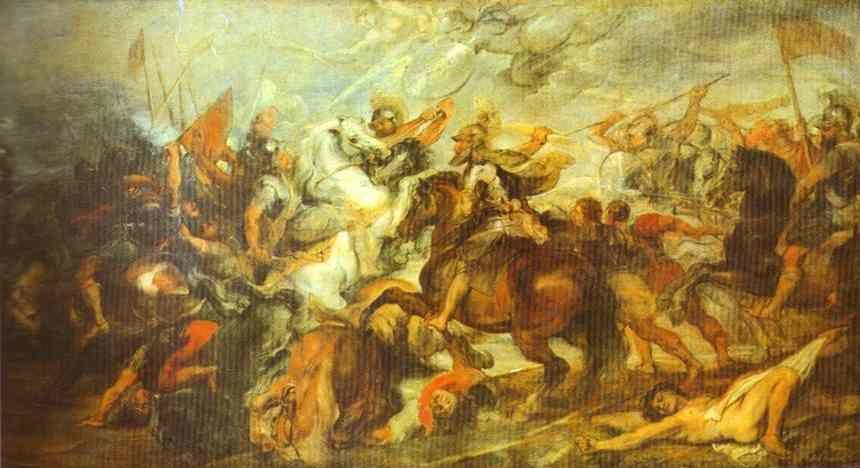 Peter Paul Rubens. Henry IV at the Battle  of Ivry.