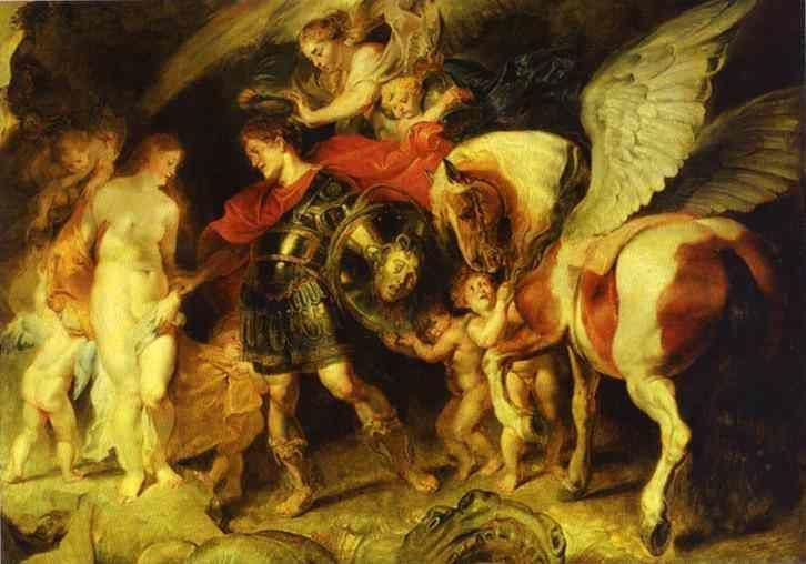 Peter Paul Rubens. Perseus and Andromeda.