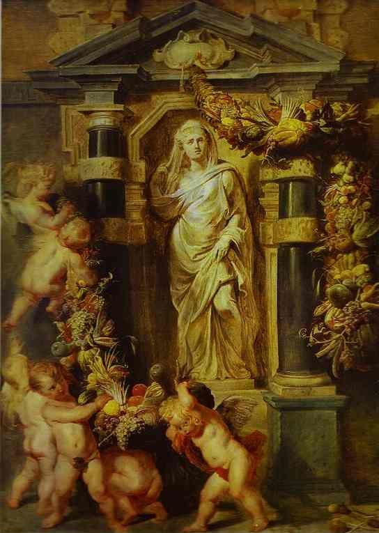 Peter Paul Rubens. The Statue of Ceres.