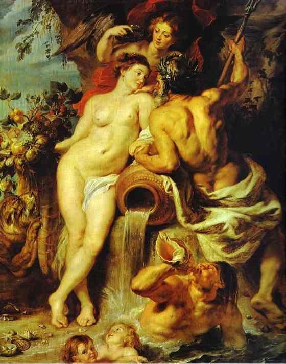 Peter Paul Rubens. The Union of Earth and  Water.
