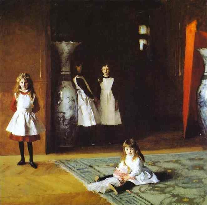 John Singer Sargent. The Daughters of Edward D. Boit.