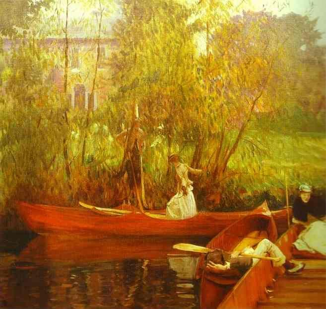 John Singer Sargent. The Boating Party.