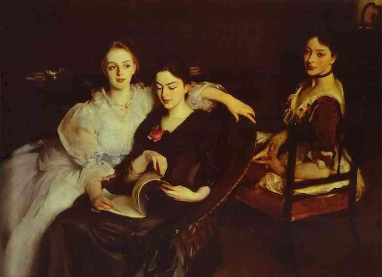 John Singer Sargent. The Misses Vickers.