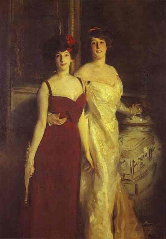 John Singer Sargent. Ena and Betty, Daughters of Asther Wertheimer.