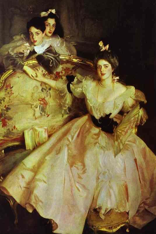 John Singer Sargent. Mrs. Carl Meyer and Her Children.