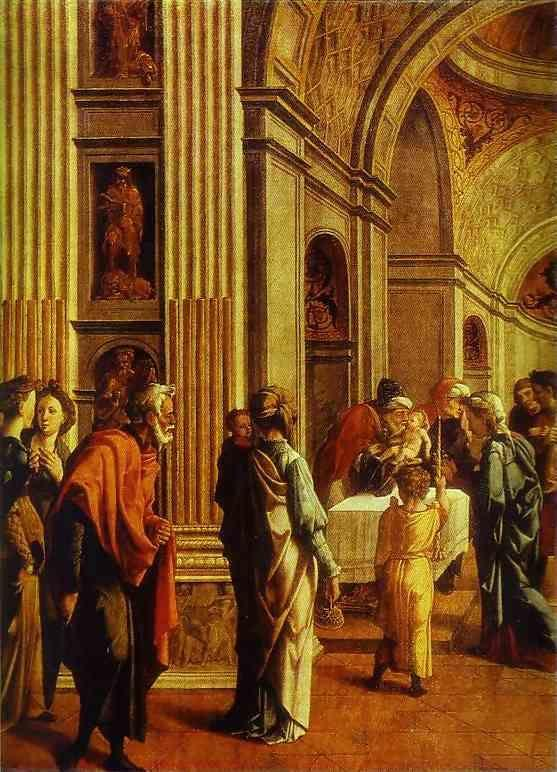 Jan van Scorel. Presentation in the Temple.