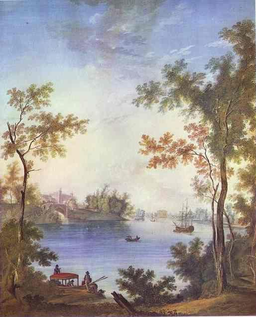 Semion Shchedrin. View on the Gatchina Palace from the Silver Lake.