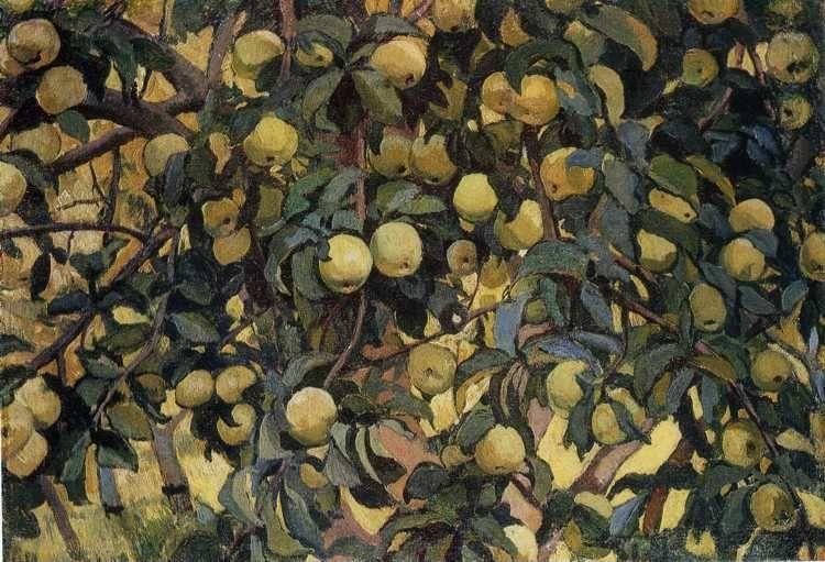Zinaida Serebriakova. Apple-Tree.