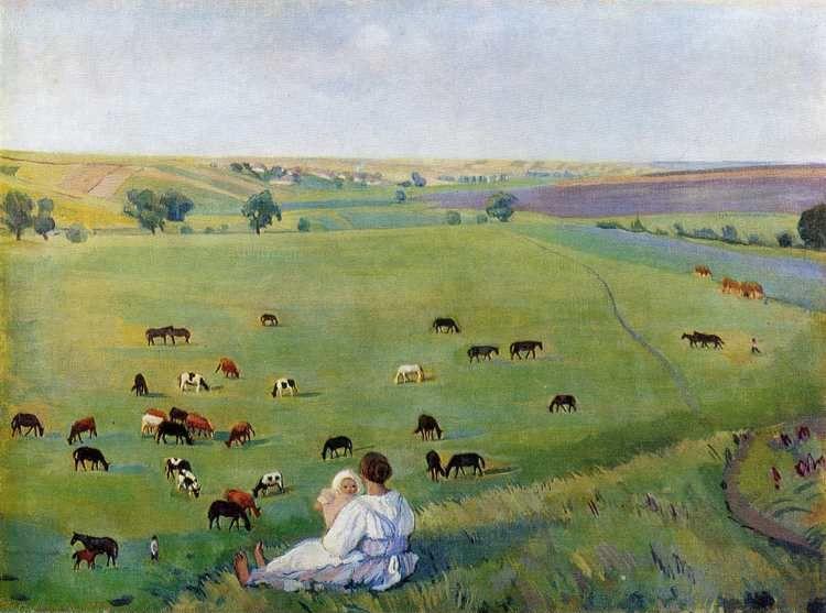 Zinaida Serebriakova. Summertime.