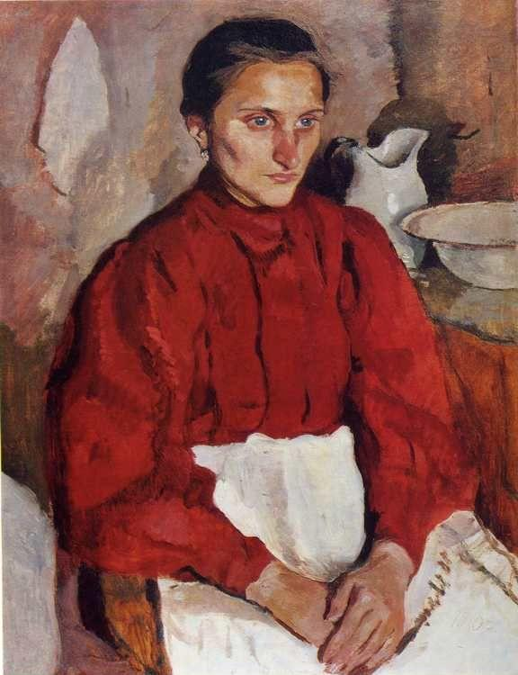 Zinaida Serebriakova. Portrait of a Nurse.