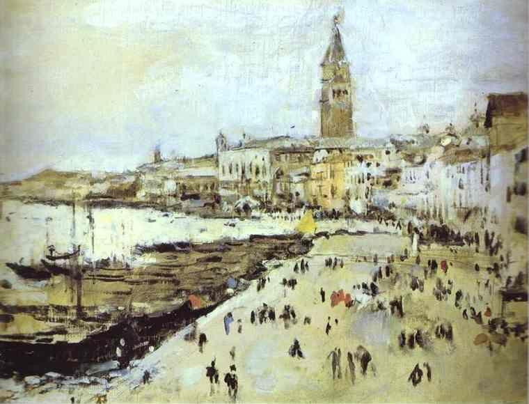 Valentin Serov. Seaside in Venice.