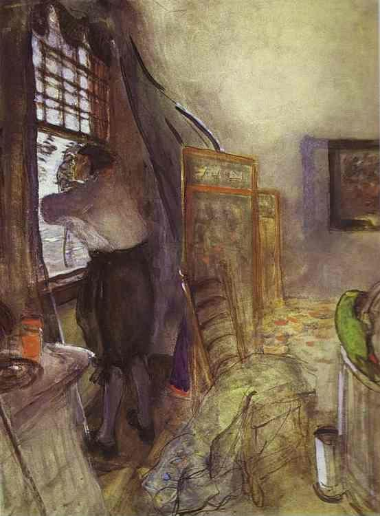 Valentin Serov. Peter I in the Palace of Monplaisir.