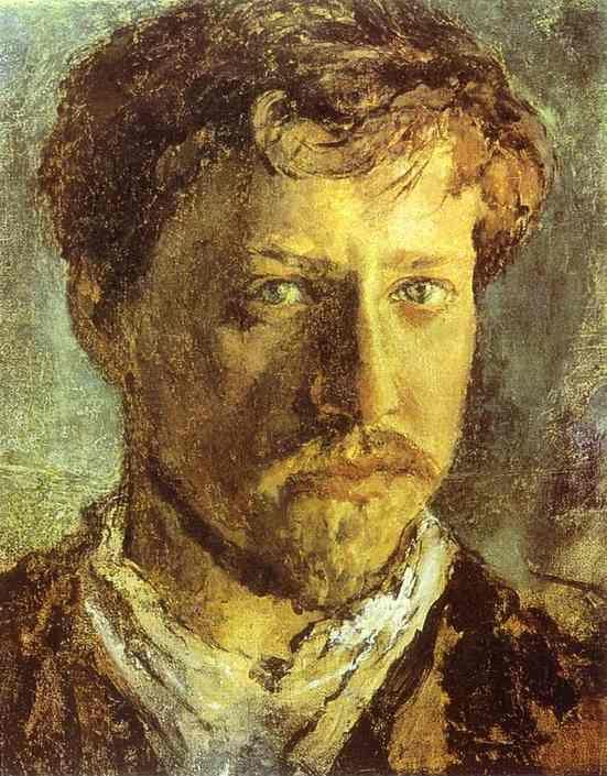 Valentin Serov. Self-Portrait.