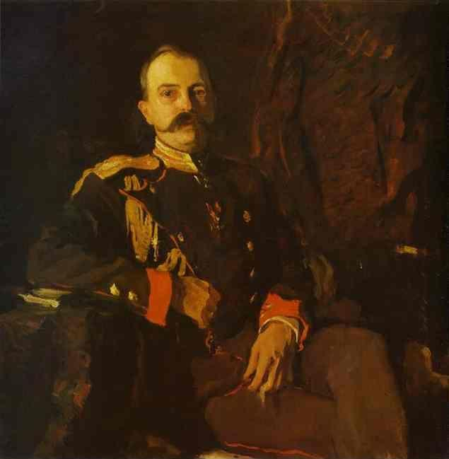 Valentin Serov. Portrait of Grand Duke Georgy Mikhailovich.