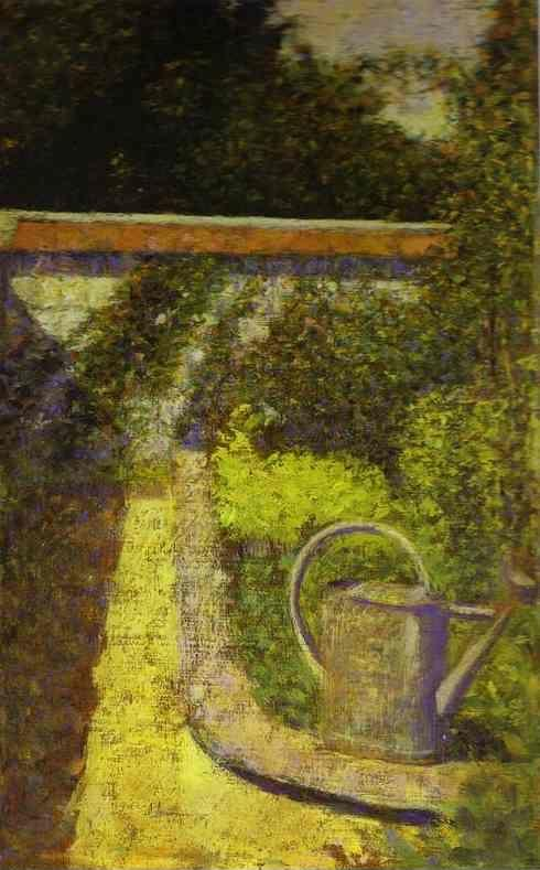 Georges Seurat. Watering Can.
