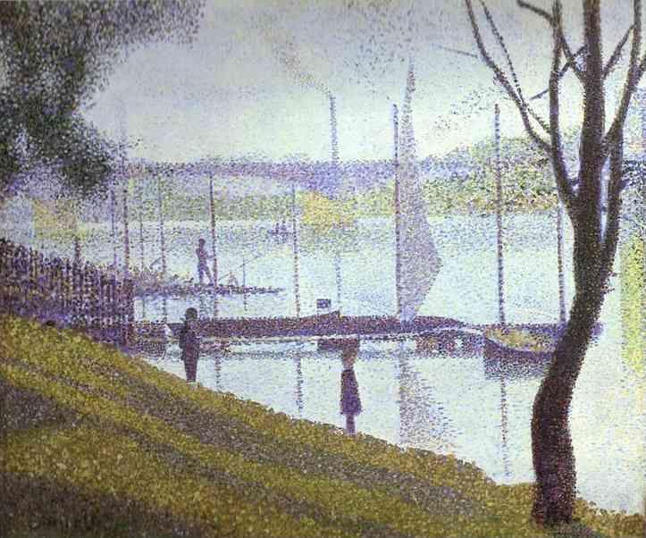 Georges Seurat. The Bridge at Courbevoie.
