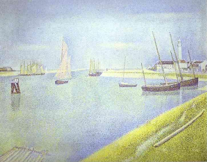 Georges Seurat. The Channel of Gravelines, the Direction to the Sea.