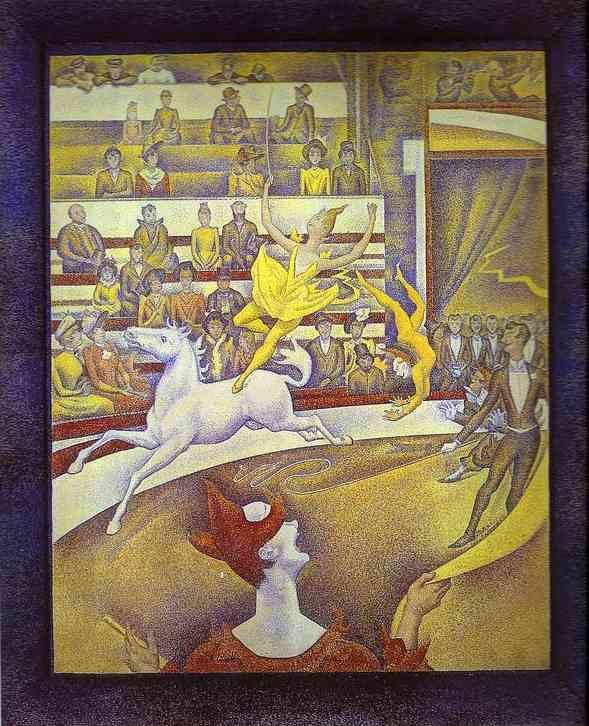 Georges Seurat. The Circus.