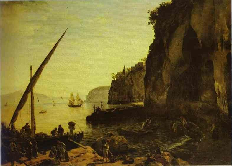Sylvester Shchedrin. View of Sorrento.