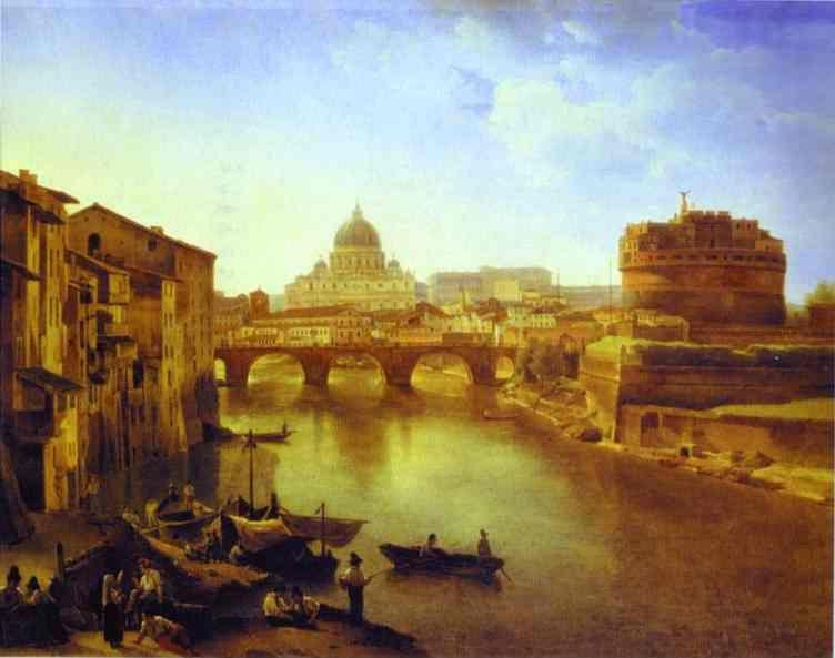 Sylvester Shchedrin. New Rome. The Castle of the Holy Angel.