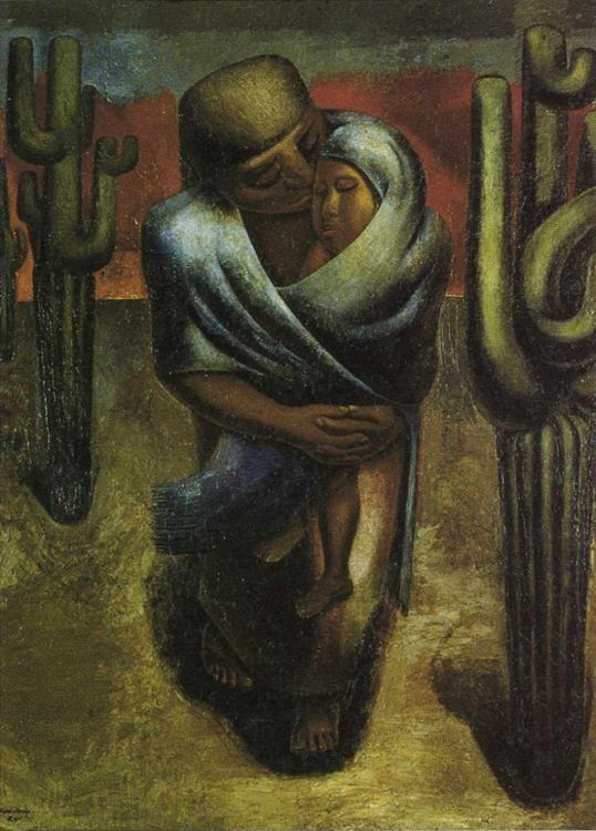 David Alfaro Siqueiros. Peasant Mother.