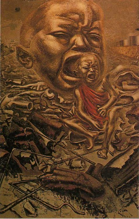 David Alfaro Siqueiros. The Echo of the Scream.