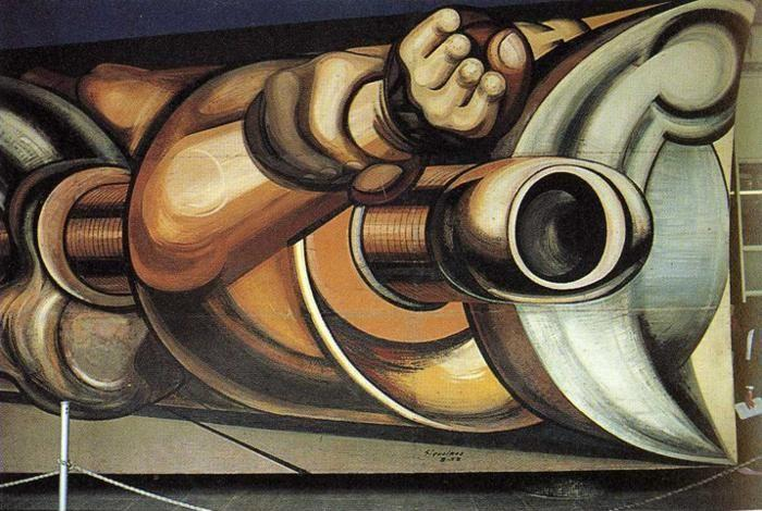 David Alfaro Siqueiros. Man the Master, not the Slave of Technology.