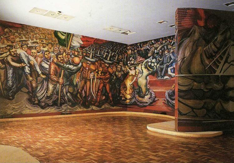 David Alfaro Siqueiros. From the Dictatorship of Porfirio Diaz to the Revolution.