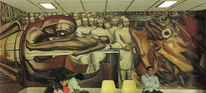 David Alfaro Siqueiros. Defense of the Future Victory of Medical Science over Cancer.