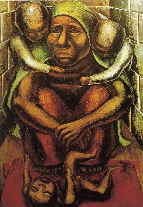 David Alfaro Siqueiros. Proletarian Mother.