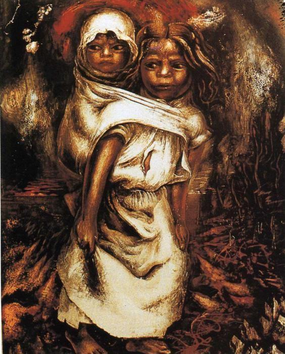 David Alfaro Siqueiros. The Child Mother.