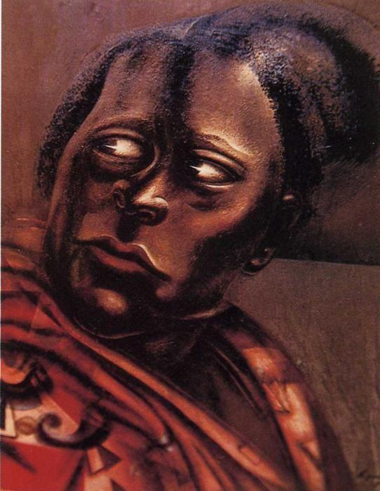 David Alfaro Siqueiros. Head of a Woman.