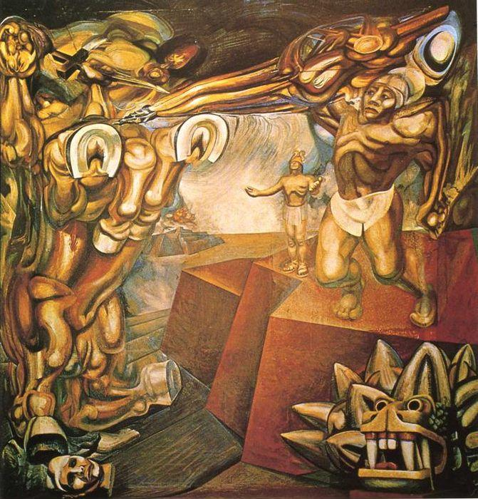 David Alfaro Siqueiros. Cuauhtemoc against the Myth.