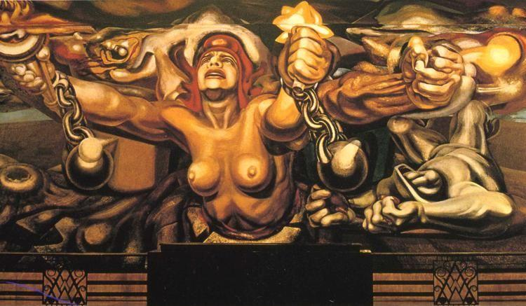 David Alfaro Siqueiros. The New Democracy.