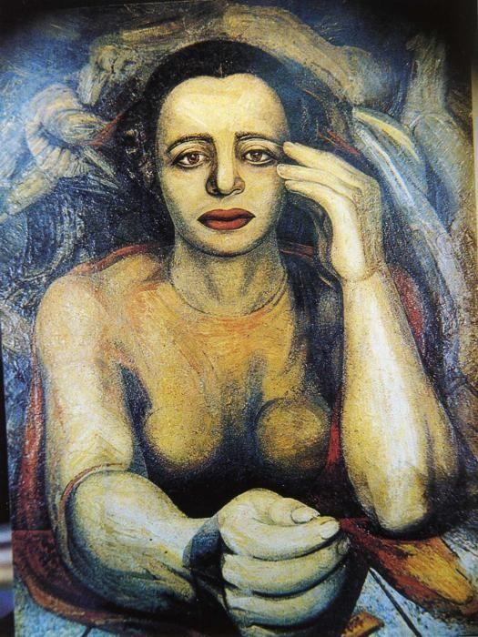 David Alfaro Siqueiros. Portrait of Angelica.