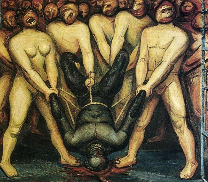 David Alfaro Siqueiros. Cain in the United States.