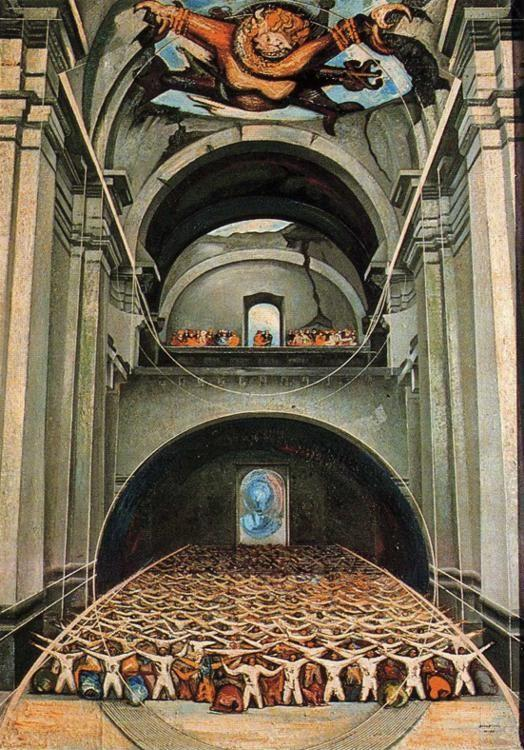 David Alfaro Siqueiros. The Devil in the Church.