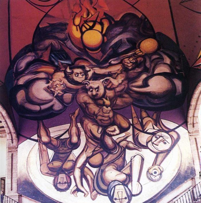 David Alfaro Siqueiros. Patricians and the Killers of Patricians.