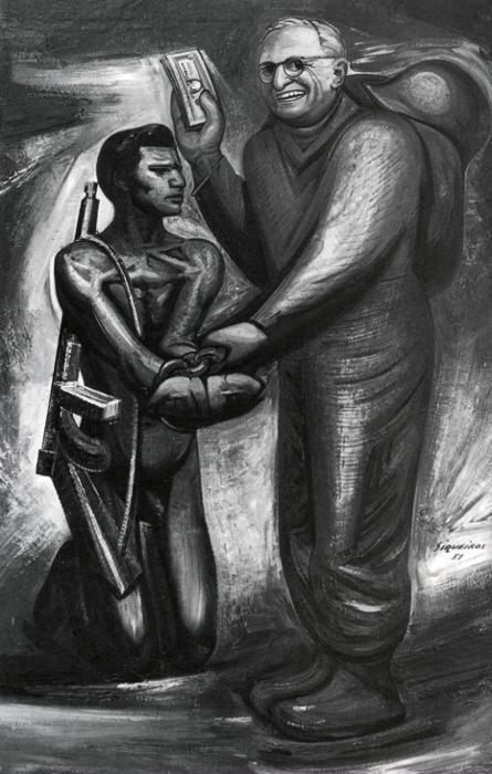 David Alfaro Siqueiros. The Good Neighbor.