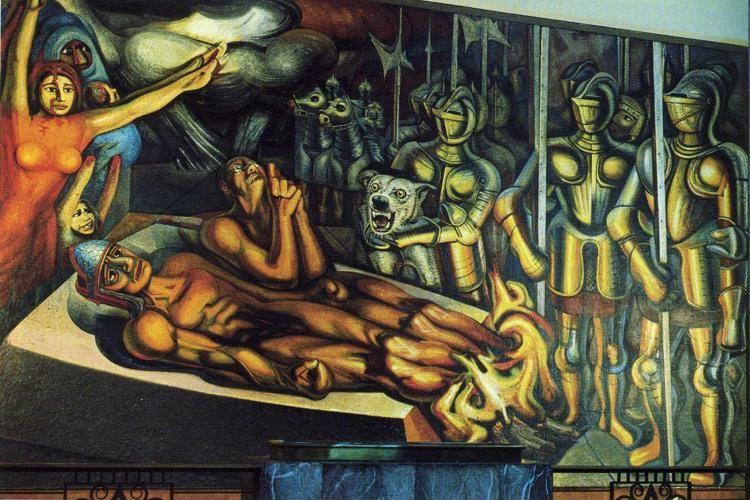 David Alfaro Siqueiros. The Torment of Cuauhtemoc.
