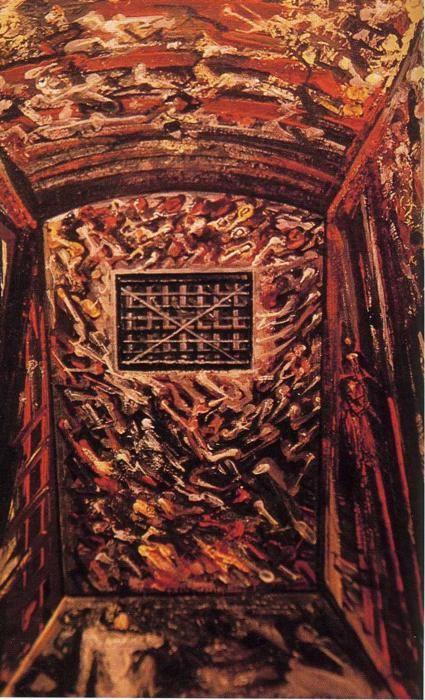David Alfaro Siqueiros. Solitary Confinement.