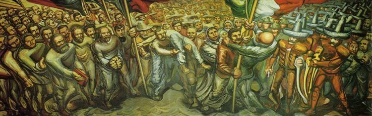 David alfaro siqueiros from the dictatorship of porfirio for David alfaro siqueiros mural tropical america