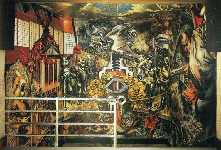 David Alfaro Siqueiros. Portrait of the Bourgeoisie.