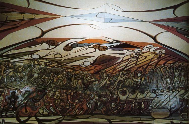 David Alfaro Siqueiros. The March of Humanity.