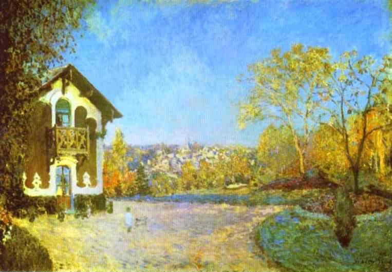 Alfred Sisley. Louveciennes.