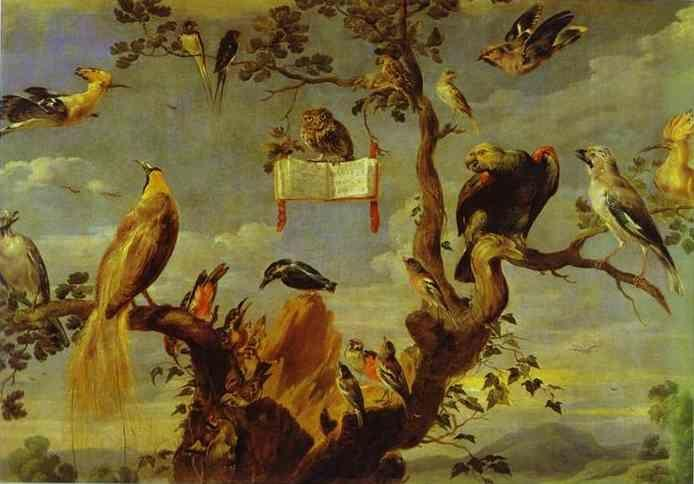 Frans Snyders. Concert of Birds.