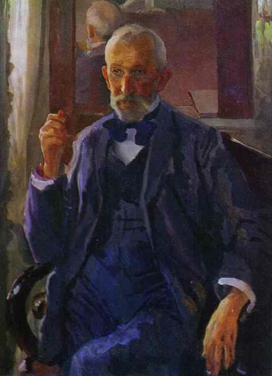 Constantin Somov. Portrait of A.I. Somov, the Artist's Father.